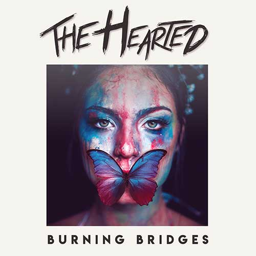 The Hearted Burning Bridges Artwork
